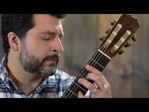 J.S. Bach - Prelude, Fugue and Allegro BWV 998 (Complete) Matthew Cochran, Guitar