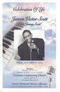 JIMMY SCOTT Funeral  ~ Cleveland  ~  July 10, 2014  ~