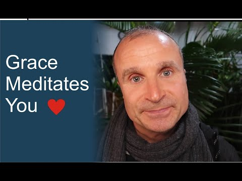 In Surrender, Grace Meditates You  (Spiritual Growth and Enlightenment)