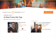 Reuters Events Fireside Chat with Mercuria CEO