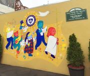 Catholic School Mural