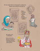 Page from Interfaith Book 2