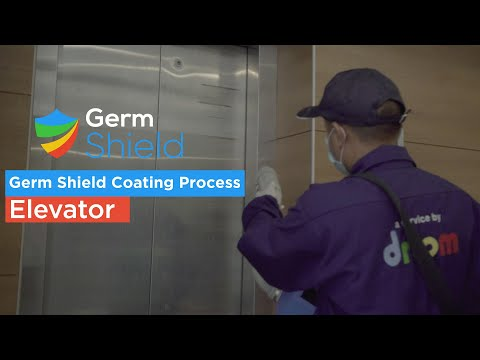 Germ Shield on Elevator - A Service by Droom - Tech-Driven Sanitization Antimicrobial Coating