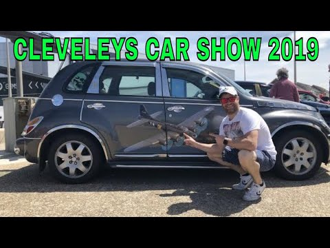 Cleveleys Car Show 2019 Walkaround  ** SICK MOBILITY SCOOTER ROLLING SHOT INSIDE**