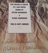 Astrid Kirchherr & Klaus Voormann Autographs