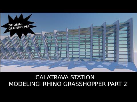TUTORIAL MODELLAZIONE GRASSHOPPER_CALATRAVA STAZIONE MEDIOPADANA PART 2