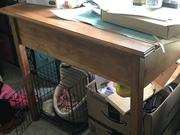 Hidden drawer table