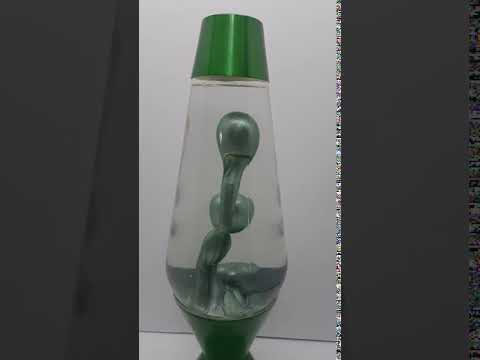 Metallic Green Lava Lamp