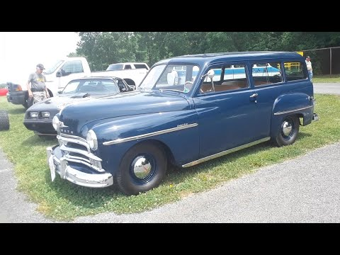 Classic Car Shopping With Pam 1950 Plymouth Suburban At the 2020 Spring Carlisle Ca Corral