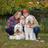 Katie, John & Parker pup
