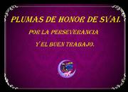 Plumas de Honor del Portal SVAI.