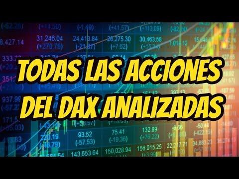 Todas las acciones del DAX analizadas