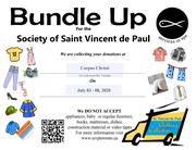Bundle Up for St Vincent de Paul
