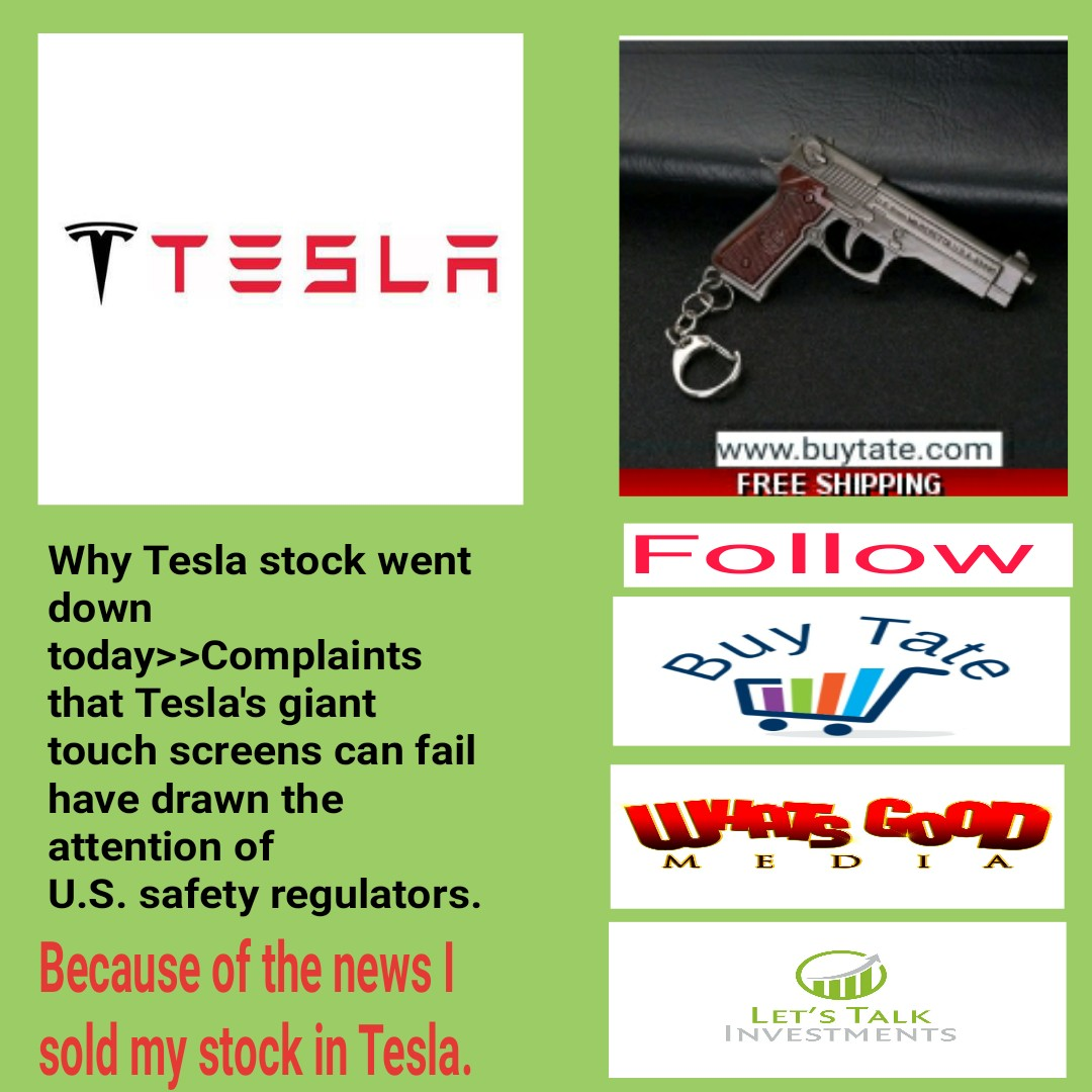 Stock Market Today: Tesla Stock Drop 40 Dollars Today