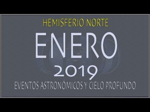 CIELO DE ENERO 2019. HEMISFERIO NORTE