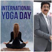 International Yoga Day Celebrated at AAFT University