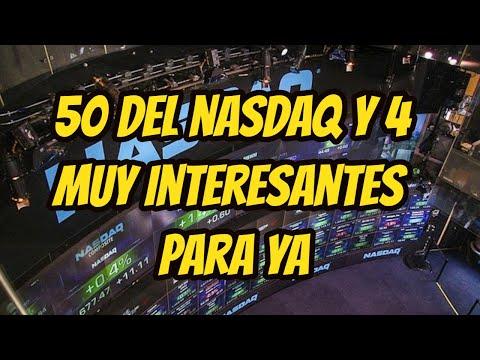 Acciones del NASDAQ oportunidades para el corto plazo