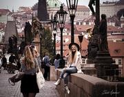 Tourist in Praga