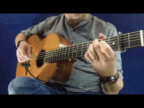 Old Foreign Hag - Irish Guitar - DADGAD Fingerstyle Double Jig