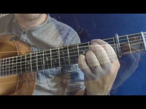Mayor Harrison's Fedora - Irish Guitar - DADGAD Fingerstyle Reel