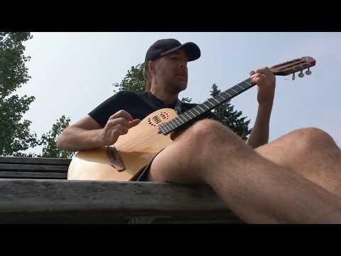 Steppin' Out (Joe Jackson) - excerpt -  [Fingerstyle Guitar Covers]