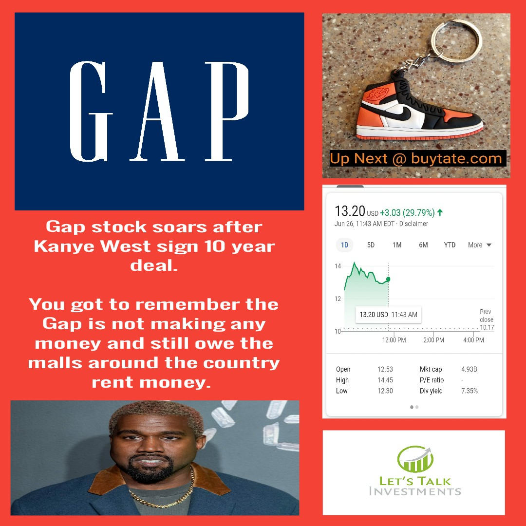 Kanye West Signs Deal With The Gap