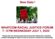 Whatcom Racial Justice Forum