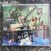 "Oasis Signed ""Shakermaker"" CD Single."