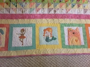 Borders on Erika's quilt
