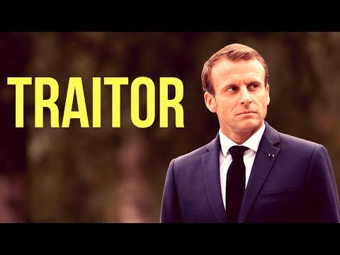 Who Is Macron - Attacks Nationalism | Wants EU Army | The Most Dangerous Man In Europe