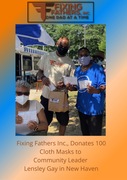 Fixing Fathers, Inc., Cloth Mask Give Away
