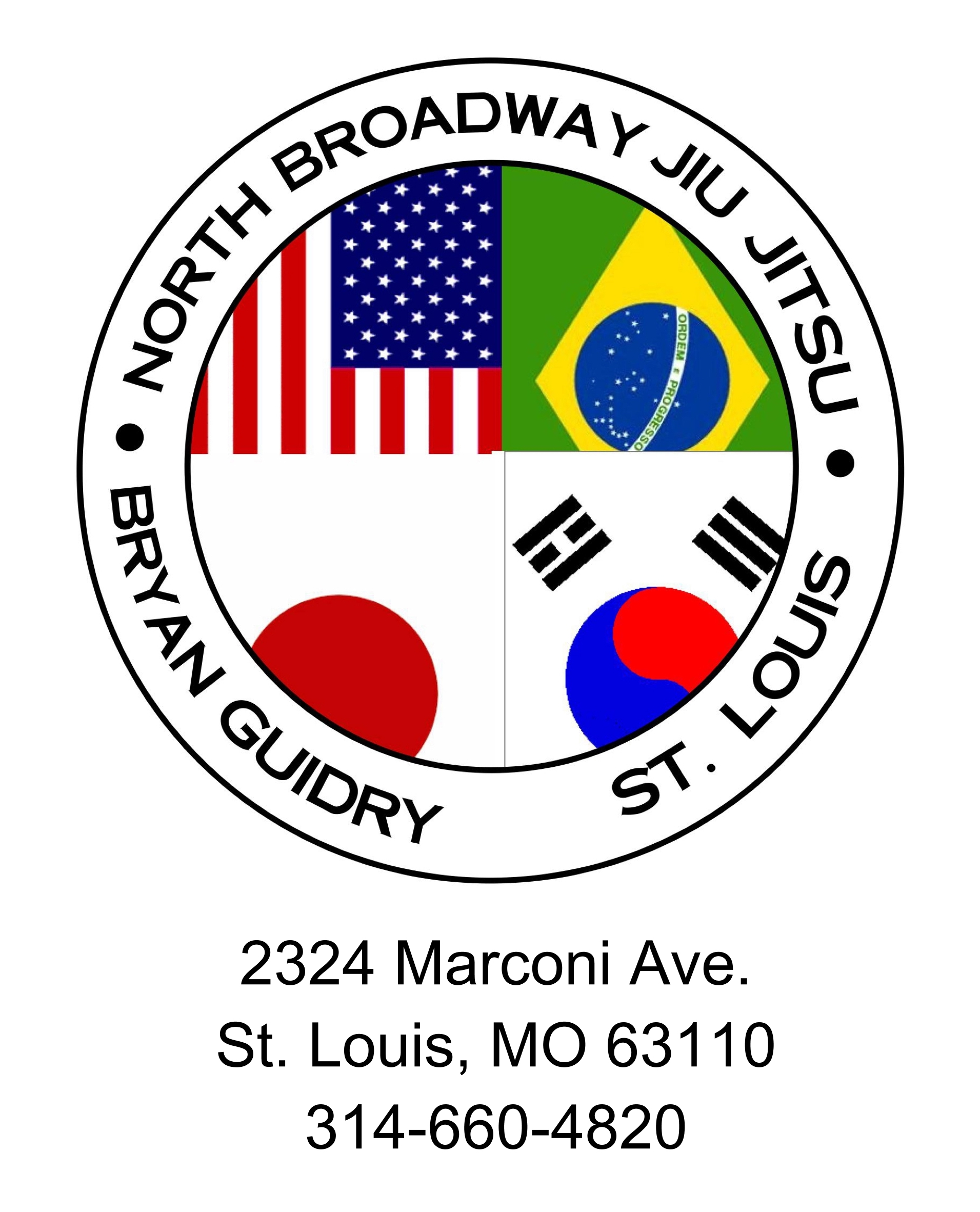 North Broadway Jiu Jitsu Logo