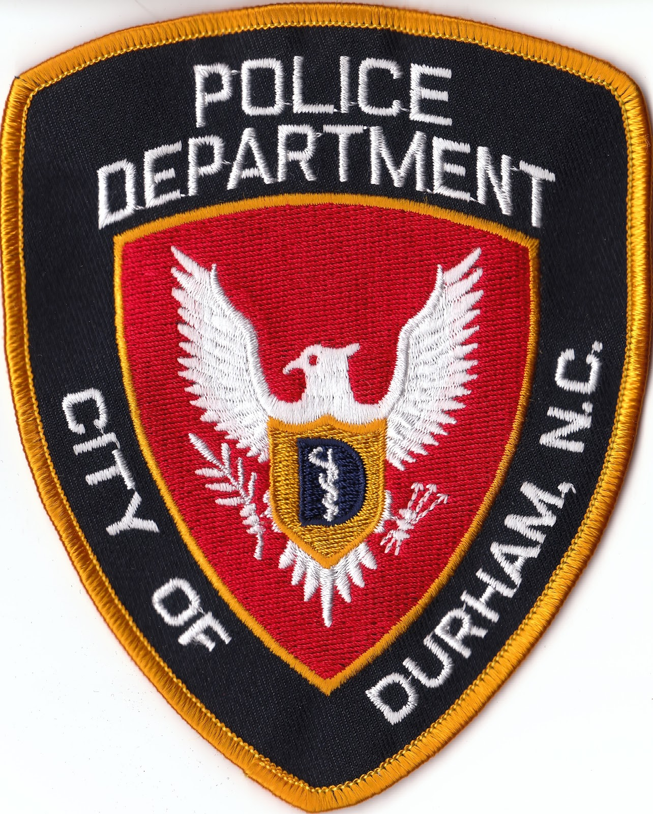 Durham Police Dept. Patch