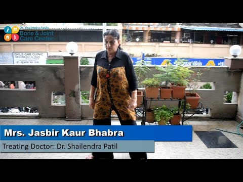 Life after Knee Replacement Surgery shared by Mrs. Jasbir Kaur Bhabra | Dr. Shailendra Patil Review