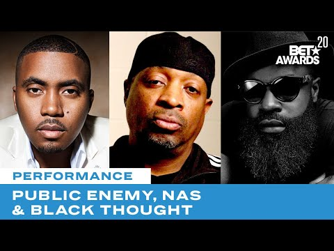 Public Enemy Is Joined By Nas, Black Thought & More For Rendition of Fight The Power   BET Awards 20