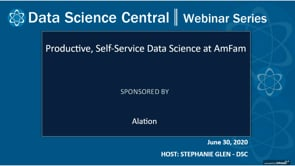 DSC Webinar Series: Productive, Self-Service Data Science