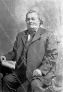 Photo Portrait of Henry Chesser, Wood Green's Village Smithy & Vet, c1875