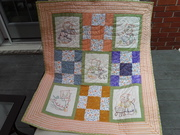 "Kitties doing chores"" quilt for children's hospital"