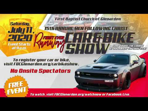 First Baptist Church of Glenarden's 15th Annual Men Following Christ Car and Bike Show (Virtual Eve…