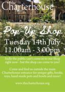 The Charterhouse pop-up shop