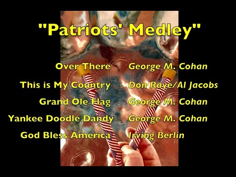 SteelHappiness.com - Patriots' Medley on steel drum and flute