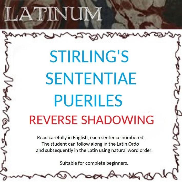 Sterling Sententiae Pueriles