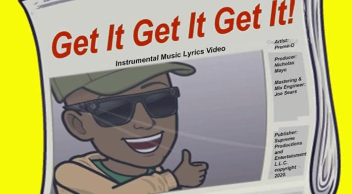 Get It Get It Get It - Instrumental Lyrics Video