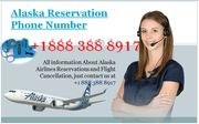 Dial Alaska reservation Phone Number + 1888 388 8917 toll-free