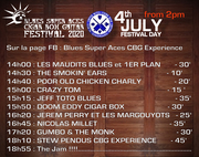 PROGRAMME Blues SA 2020  - Independent Festival Day