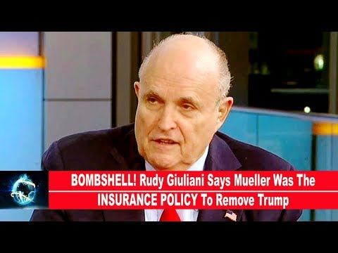BOMBSHELL! Rudy Giuliani Says Mueller Was The INSURANCE POLICY To Remove Trump(VIDEO)!!!