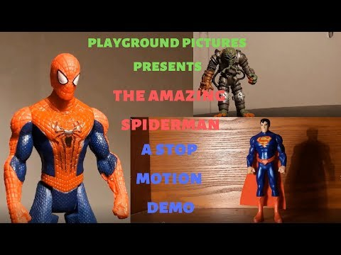 the amazing spiderman stop motion demo