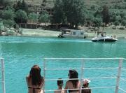 ცურვისგან დაღლილი მაიკო და ბავშვები)