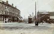Lordship Lane from Wood Green High Road, c1908