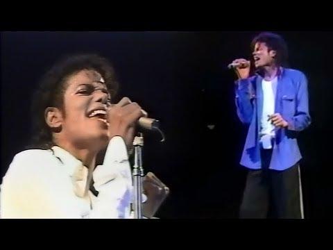 Michael Jackson - Man In The Mirror - Bad Tour Megamix (1988-1989)